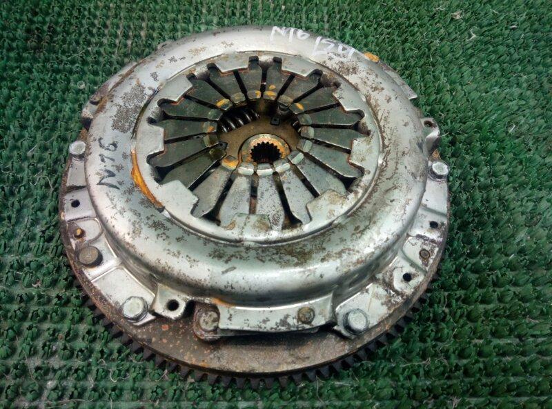 Диск корзина маховик сцепления Nissan Almera N16 N16 QG15DE 2000 (б/у)