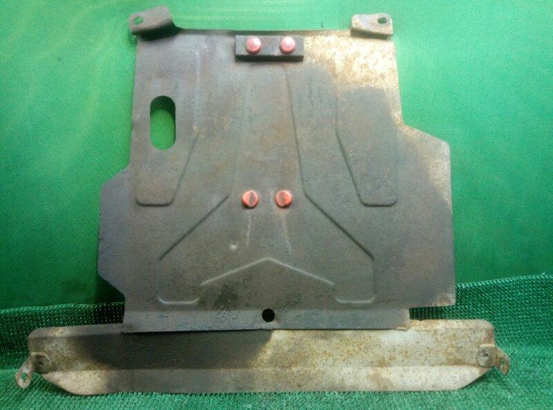 Защита картера Nissan Almera N16 N16 QG15DE 2000 (б/у)
