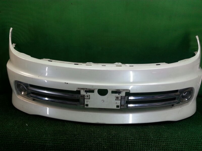 Бампер Nissan Lafesta B30 передний (б/у)