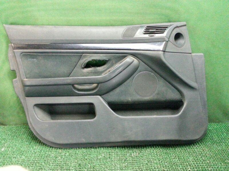 Обшивка двери Bmw 5-Series E39 передняя левая (б/у)