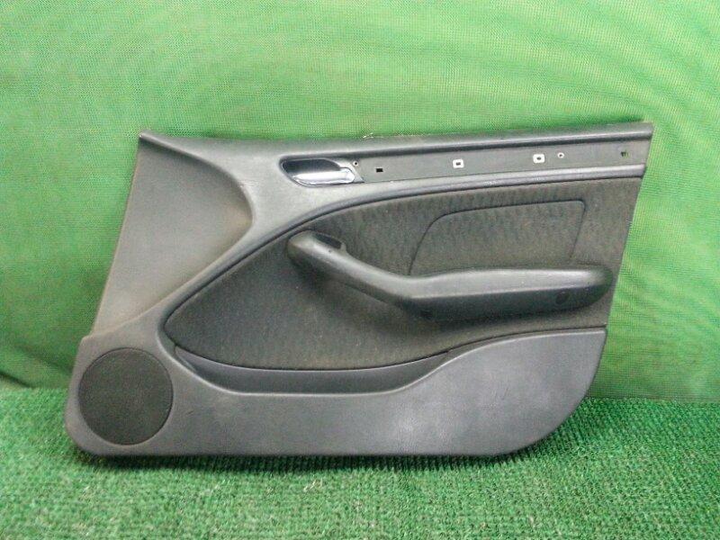 Обшивка двери Bmw 3-Series E46 передняя правая (б/у)