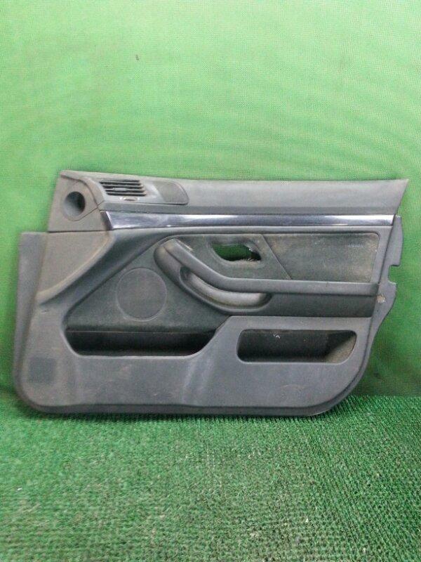 Обшивка двери Bmw 5-Series E39 передняя правая (б/у)