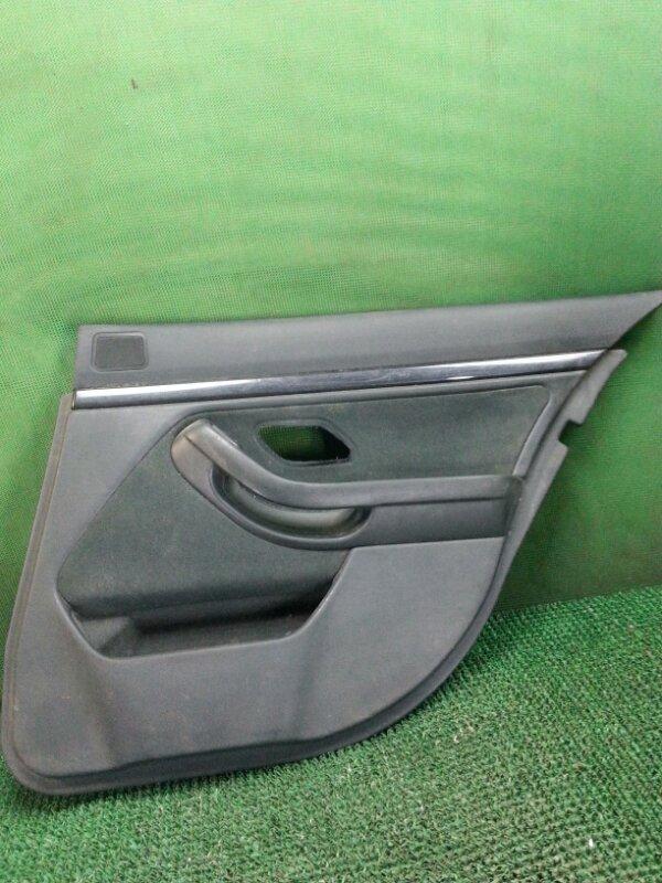 Обшивка двери Bmw 5-Series E39 задняя правая (б/у)