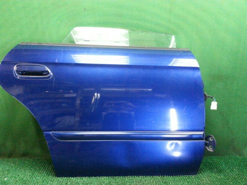 Дверь Subaru Legacy B4 BE5 задняя правая (б/у)