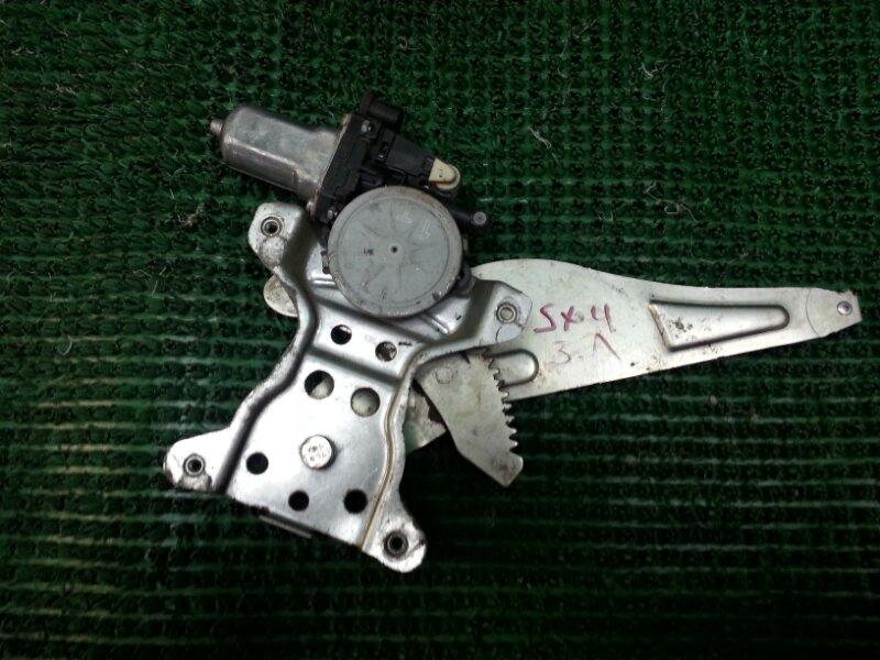 Стеклоподъемник Suzuki Sx4 GYA M16A 2006 задний левый (б/у)