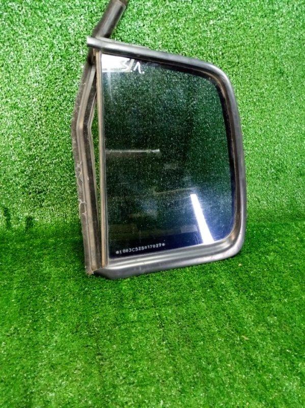 Форточка стекло глухое Renault Symbol LB K4J 2001 задняя левая (б/у)
