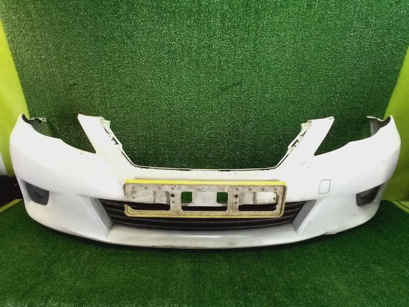 Бампер передний Toyota Mark X GRX130 передний правый (б/у)