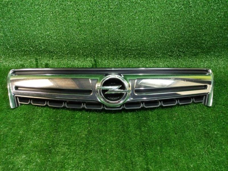 Решетка радиатора Opel Antara L07 10HM передняя верхняя (б/у)