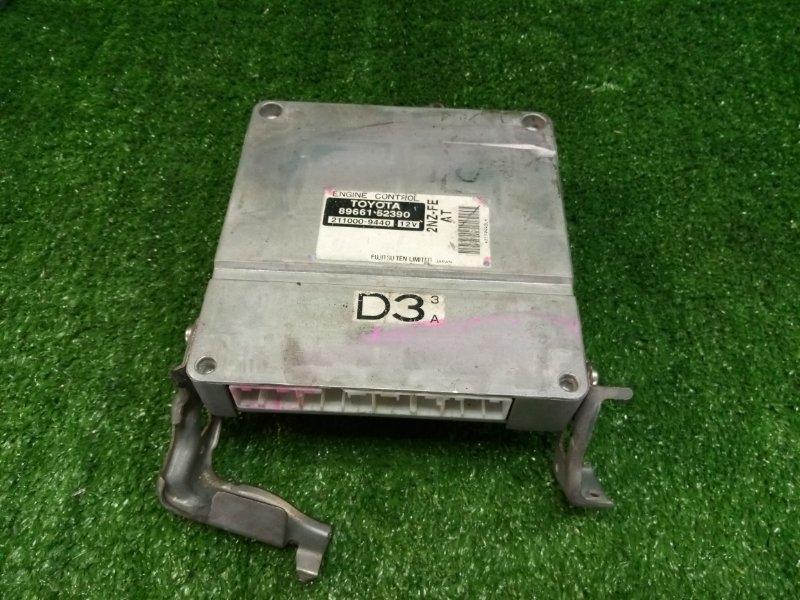 Блок управления Toyota Probox NCP50 2NZFE 2002 (б/у)