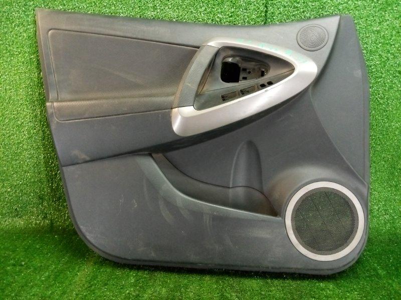 Обшивка двери Toyota Rav4 ACA30 1AZFE передняя левая (б/у)