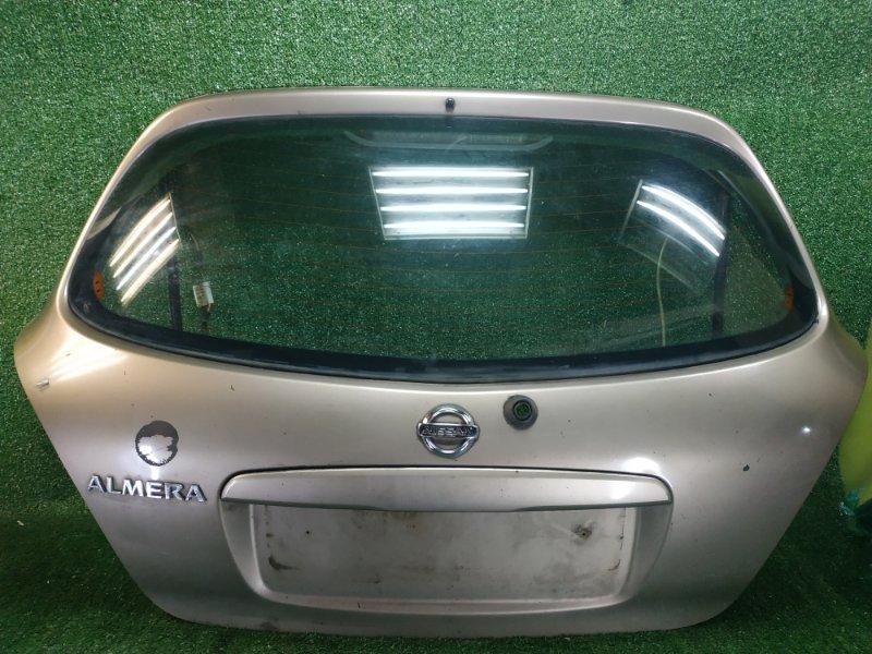 Крышка дверь багажника Nissan Almera N16 QG15DE 2005 (б/у)