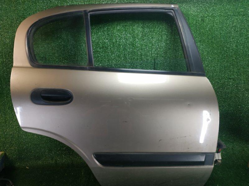 Дверь Nissan Almera N16 QG15DE 2005 задняя правая (б/у)