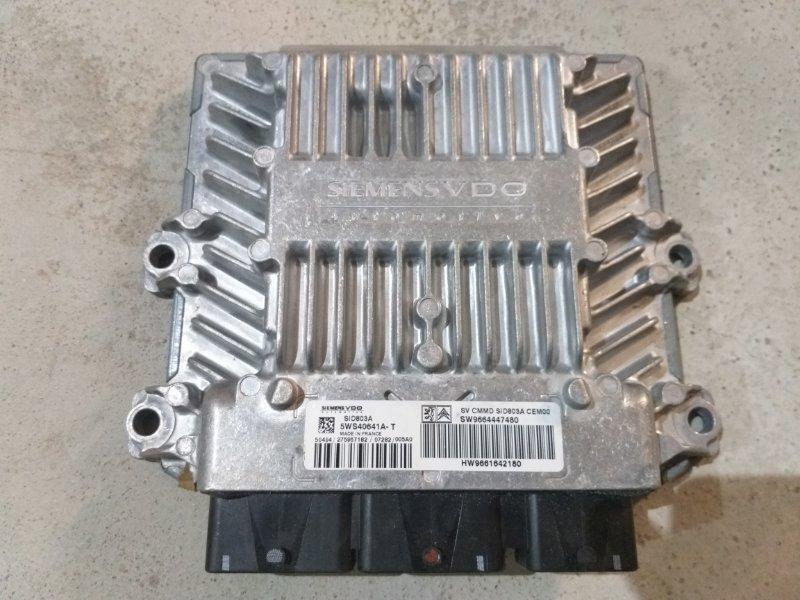 Блок управления двигателем Peugeot 407 RHR 2005 (б/у)