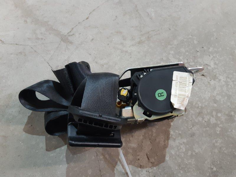 Ремень безопасности Kia Ceed I РЕСТ G4FC 2010 передний правый (б/у)
