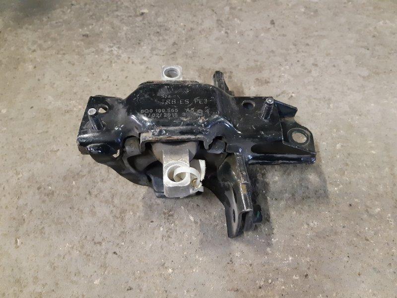 Подушка двигателя Volkswagen Polo 1.6 CFNA левая (б/у)