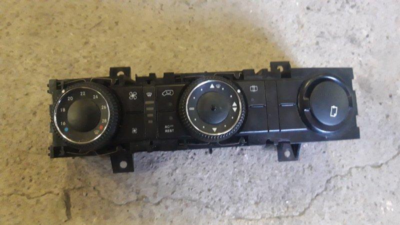 Блок управления климат-контролем Volkswagen Crafter BJM 2008 (б/у)