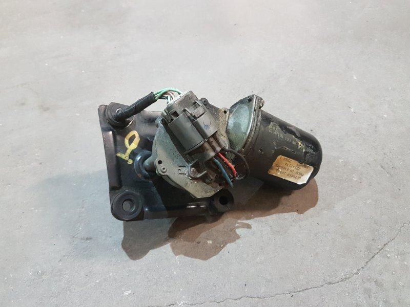 Моторчик стеклоочистителя Nissan Primera P11 SR20 1998 передний (б/у)