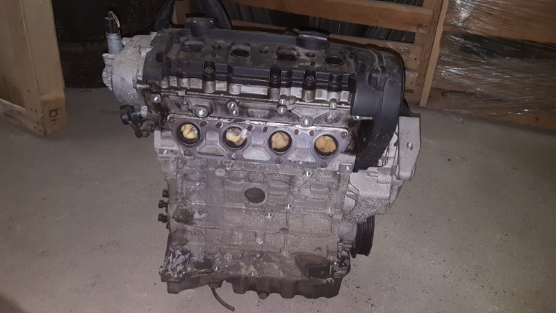 Двигатель Volkswagen Passat B6 СЕДАН BLR. 2 2005 (б/у)