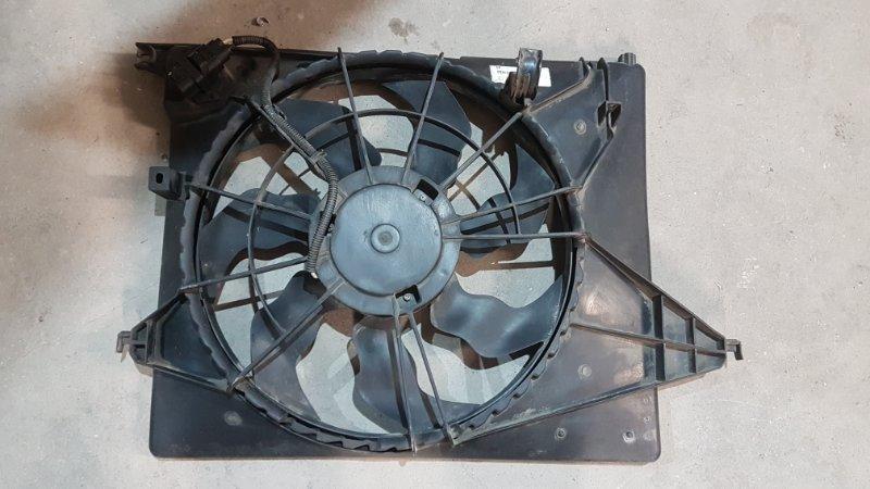 Диффузор вентилятора Kia Sorento XM G4KE 2011 (б/у)