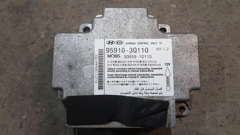 Блок управления air bag Hyundai Sonata 6 YF 2.4 2013 (б/у)