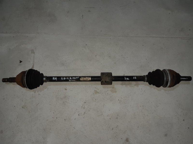 Привод Opel Zafira B 1.8 передний правый (б/у)