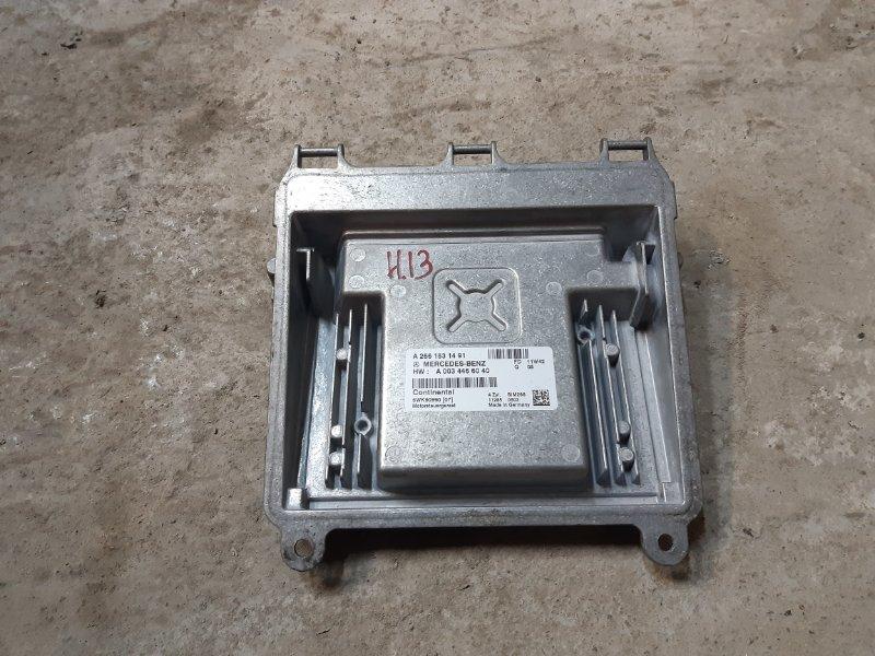 Блок управления двигателем Mercedes-Benz А160 W169 1.8 266120 2012 (б/у)