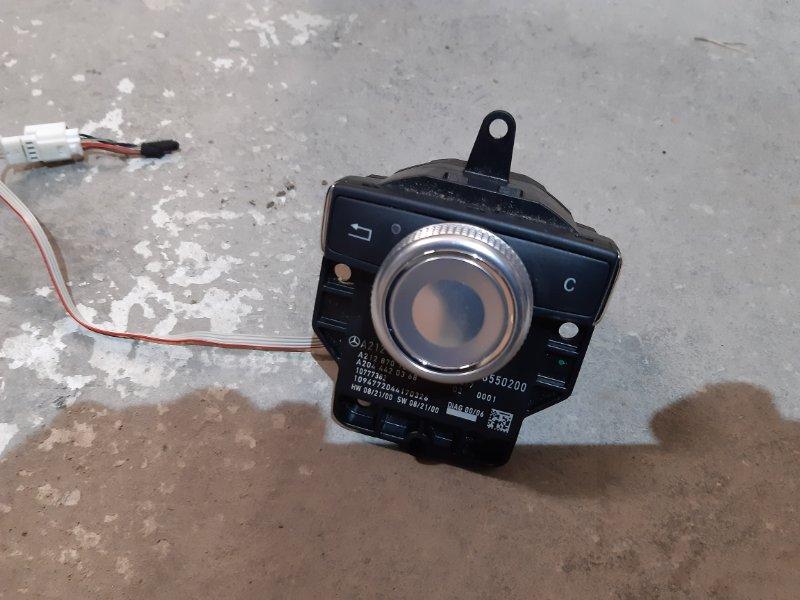 Блок управления магнитолой Mercedes-Benz А160 W169 1.8 266120 2012 (б/у)