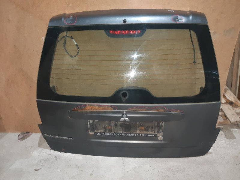 Крышка багажника Mitsubishi Space Star 1.6 2004 (б/у)