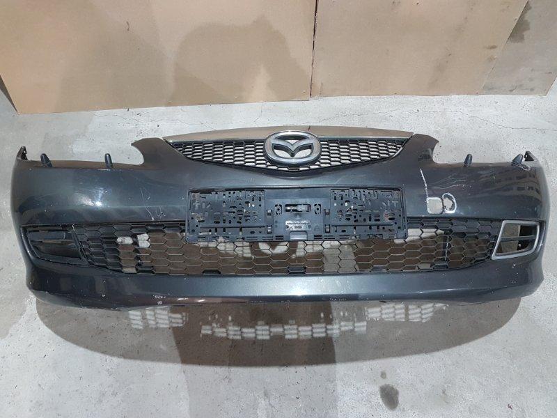 Бампер Mazda 6 Gg УНИВЕРСАЛ 2.0 TD RF 2005 передний (б/у)