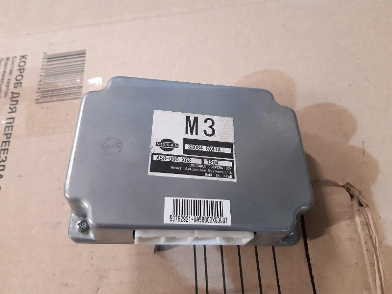 Блок управления акпп Nissan Navara D40 V9X 2012 (б/у)