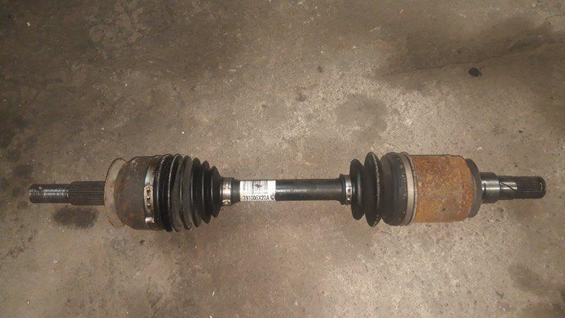 Привод Nissan Navara D40 V9X 2012 передний левый (б/у)