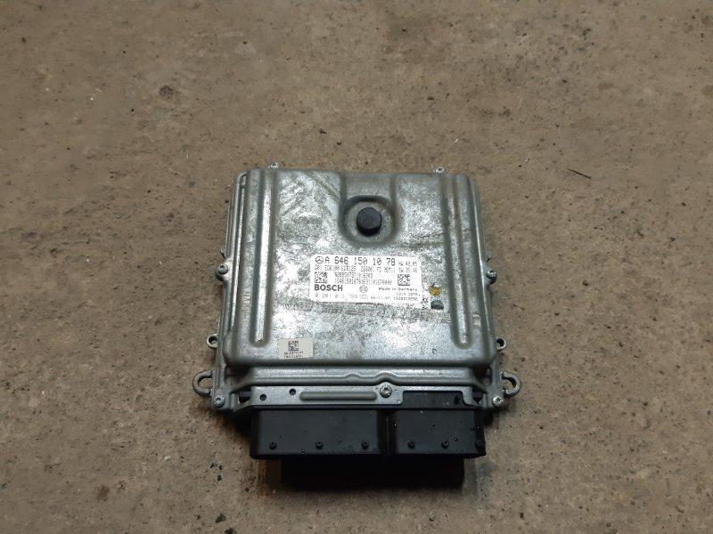 Блок управления двигателем Mercedes-Benz Vito W639 646980 2007 (б/у)