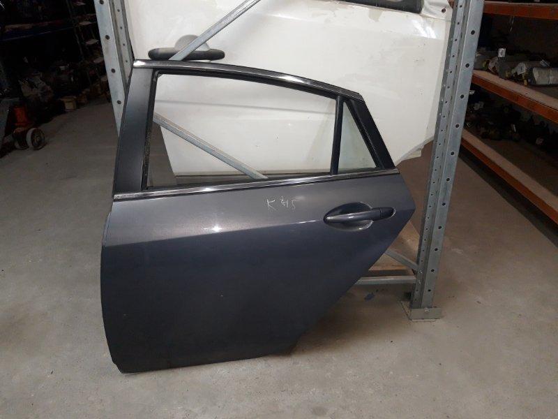 Дверь Mazda 6 Gh ХЕТЧБЭК LF 2008 задняя левая (б/у)