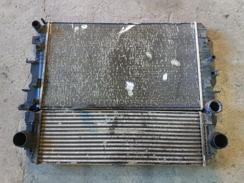 Кассета радиаторов Volkswagen Crafter 2 2012 (б/у)