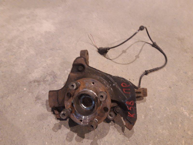Кулак поворотный Opel Corsa D 1.3 TD правый (б/у)