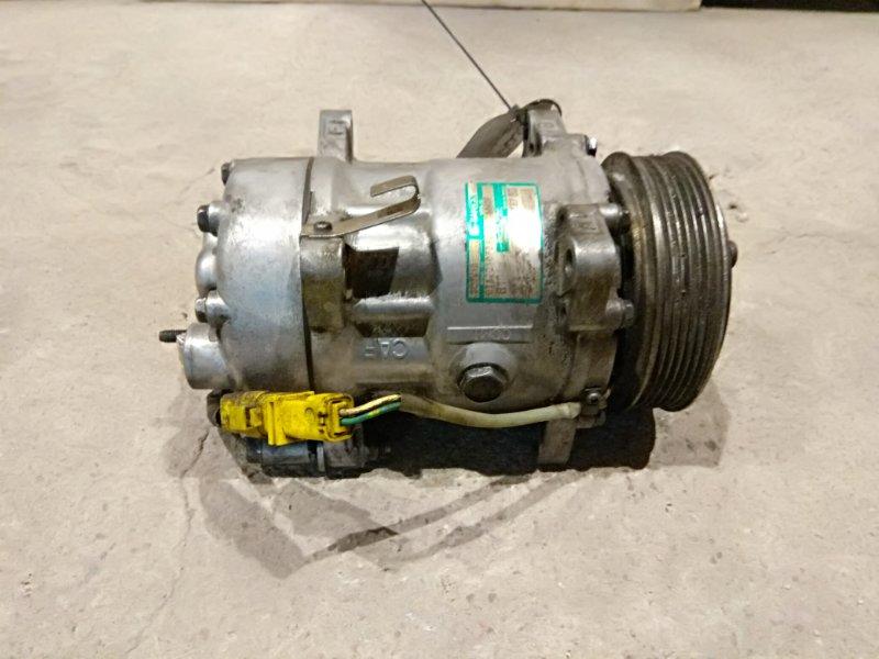 Компрессор кондиционера Peugeot 607 2.2 DW12TED4 2003 (б/у)