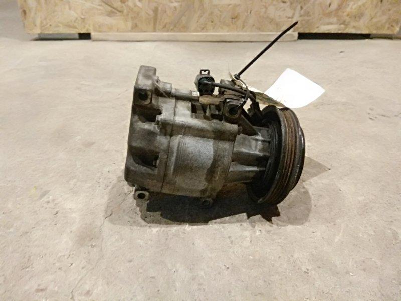 Компрессор кондиционера Toyota Yaris NCP13 1.5 1NZFE 2001 (б/у)