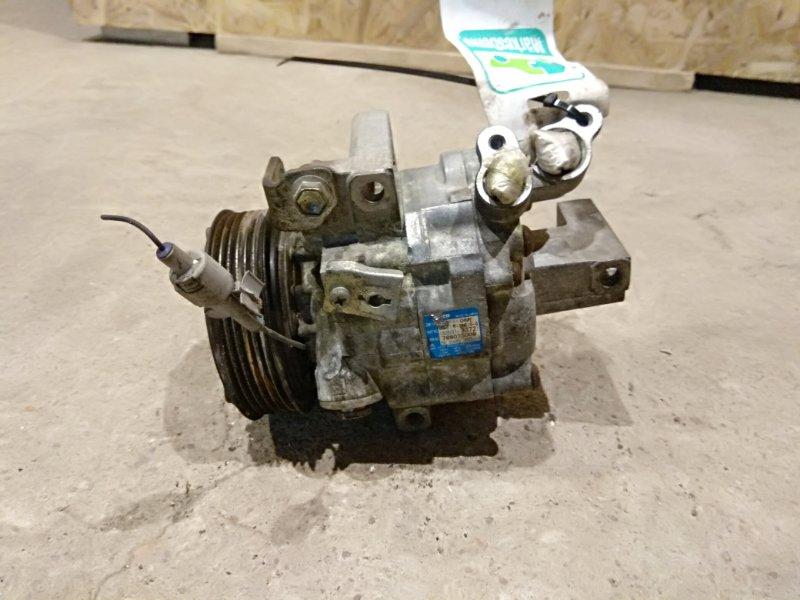 Компрессор кондиционера Peugeot 107 1.0 1KRFE 2008 (б/у)