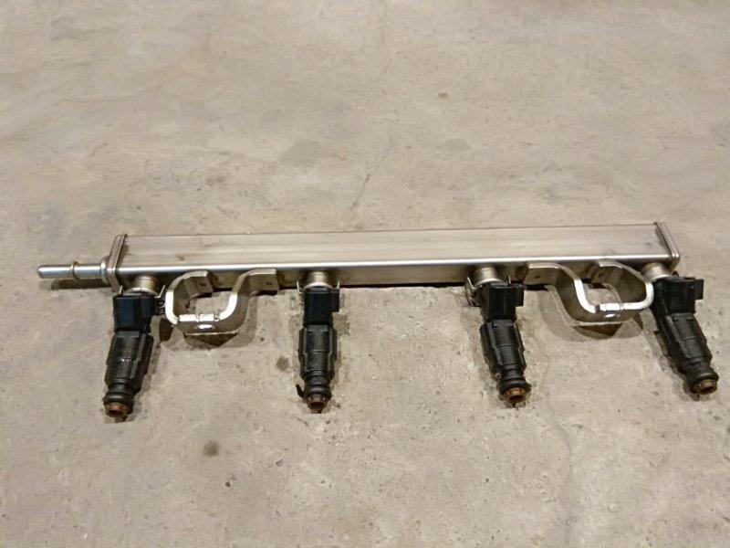 Топливная рампа Ford Focus 2 05-07 1.8 QQDB 2007 (б/у)