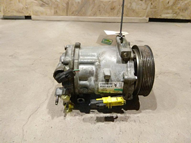 Компрессор кондиционера Peugeot 407 SW 1.6 DV6TED4 2008 (б/у)