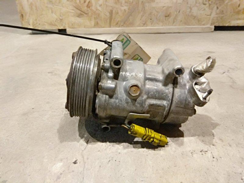 Компрессор кондиционера Peugeot 206 1.4 TU3JP 2005 (б/у)
