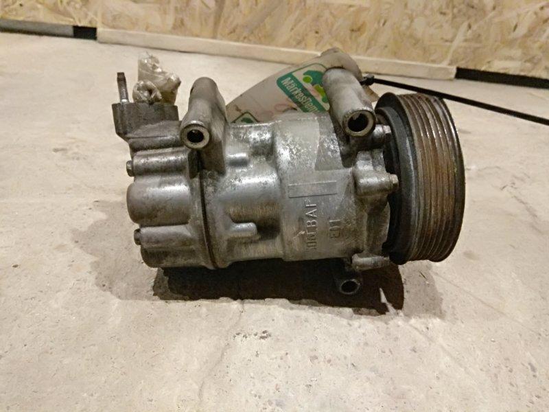 Компрессор кондиционера Peugeot 207 I 1.6 DV6TED4 2007 (б/у)