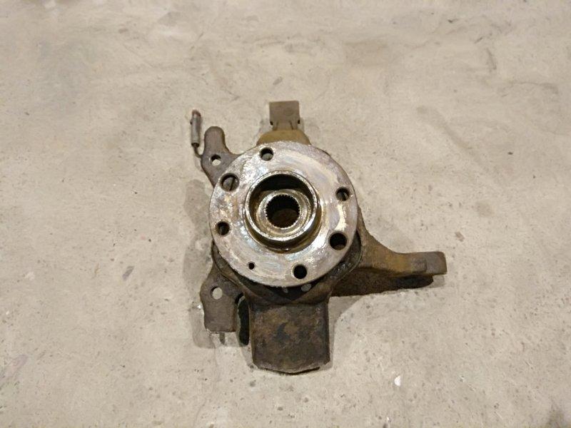 Кулак поворотный Opel Astra H 1.4 Z14XEP 2006 левый (б/у)