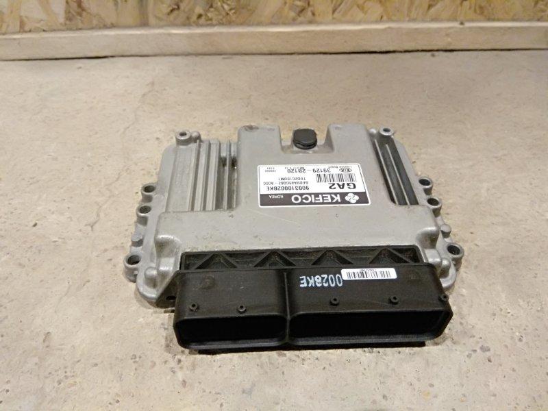 Блок управления двигателем Kia Ceed I РЕСТ G4FC 2010 (б/у)