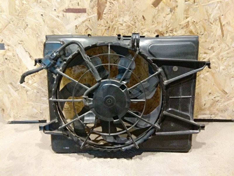 Диффузор вентилятора Kia Ceed I РЕСТ G4FC 2010 (б/у)