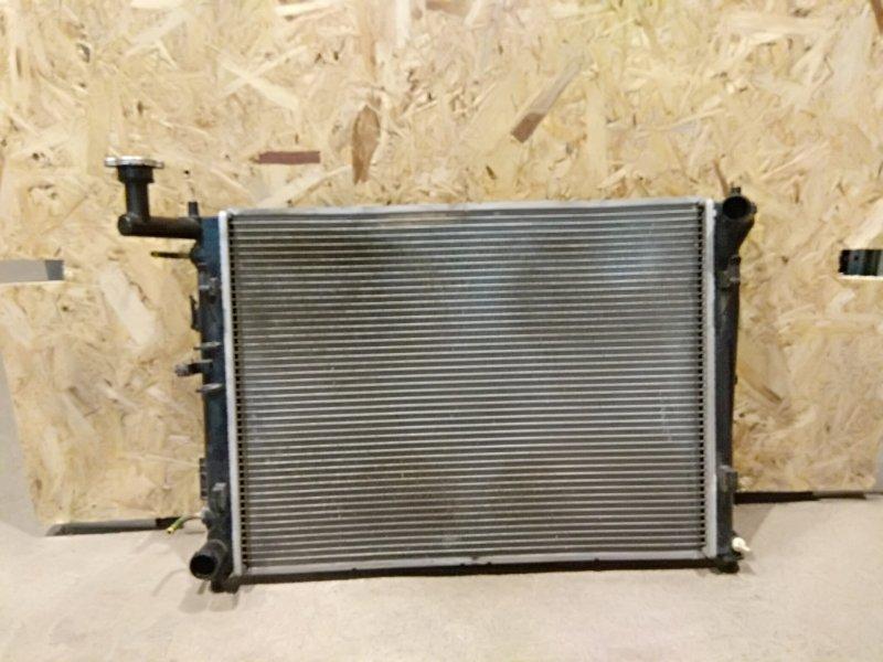 Радиатор основной Kia Ceed I РЕСТ G4FC 2010 (б/у)