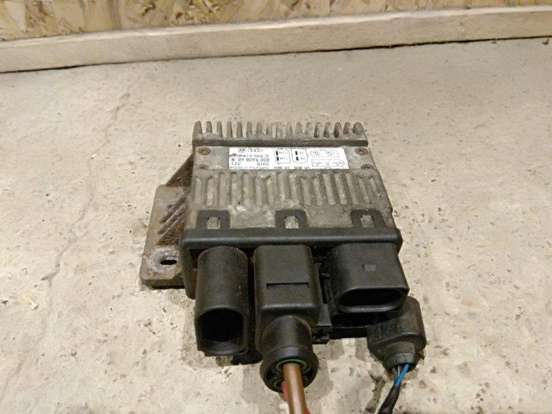 Блок управления вентилятором Volkswagen Transporter T5 BNZ 2007 (б/у)