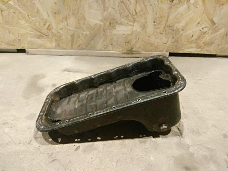 Поддон двигателя Chevrolet Aveo 2008 T250 B12S1 96518397 Б/У