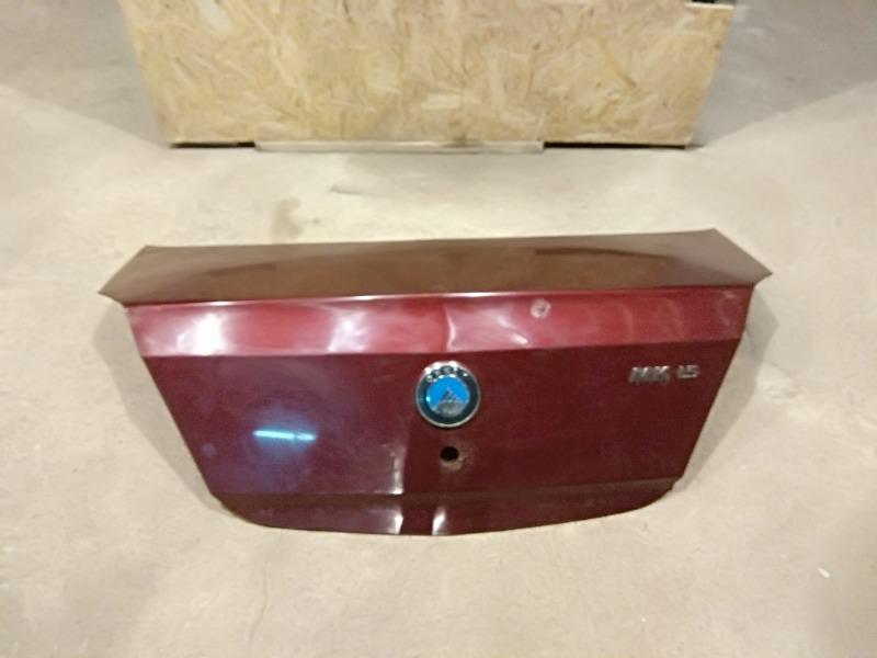Крышка багажника Geely MK 2011 1.5 10120031100103 Б/У