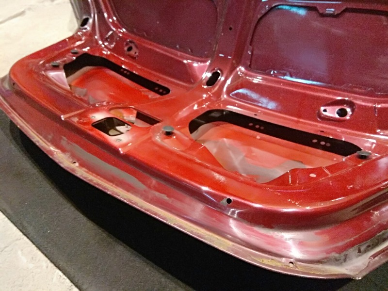 Крышка багажника MK 2011 1.5